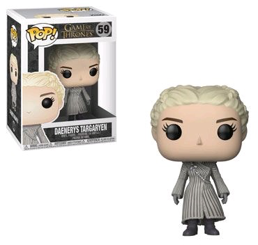 Australia Game of Thrones - Daenerys (White Coat) Pop!