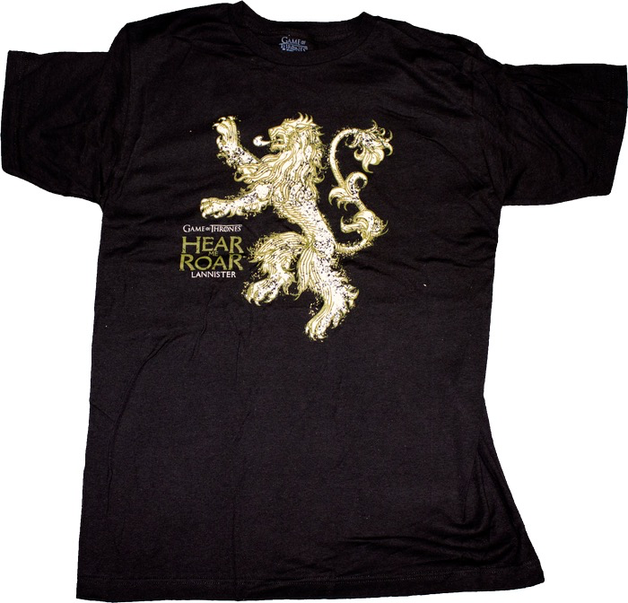 Australia Game of Thrones - Lannister Male T-Shirt S