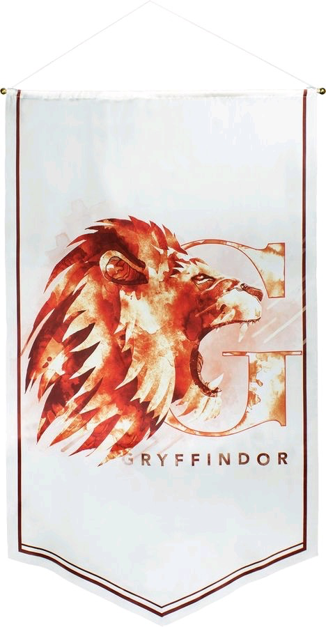 Australia Harry Potter - Gryffindor Watercolour Satin Banner