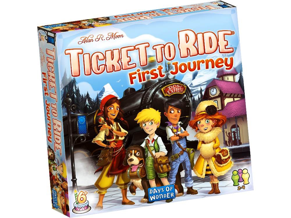 Australia TICKET TO RIDE FIRST JOURNEY