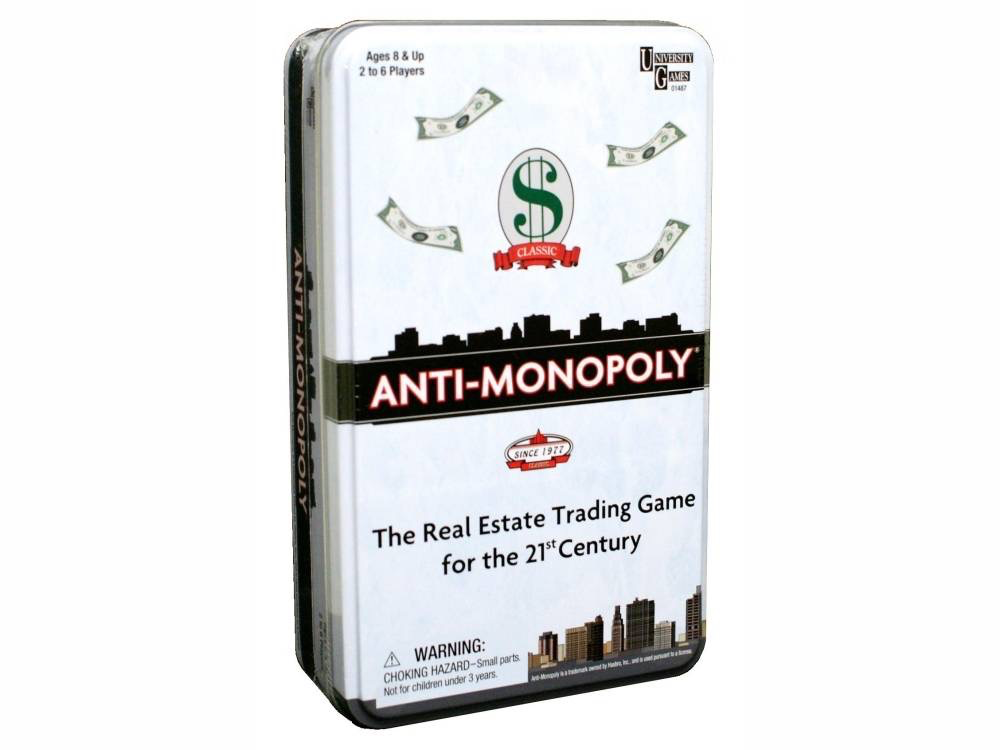 Australia ANTI-MONOPOLY TIN