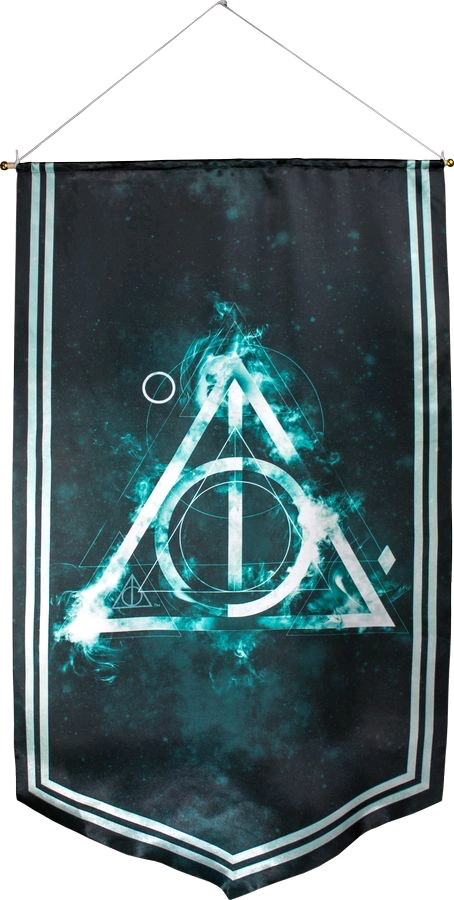 Australia Harry Potter - Deathly Hallows Satin Banner