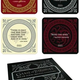 Australia Game of Thrones - Quotes Coaster Set