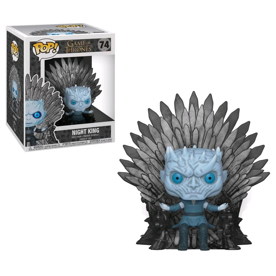 Australia Game of Thrones - Night King Iron Throne Pop! Dlx