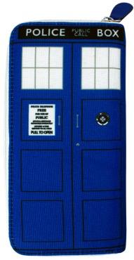Australia Dr Who - TARDIS Ladies Clutch Wallet