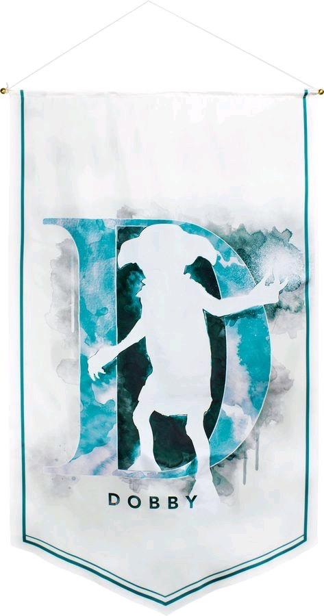 Australia Harry Potter - Dobby Watercolour Satin Banner