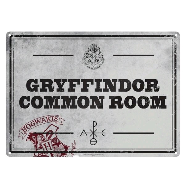 Australia Harry Potter - Tin Sign Small Common Room