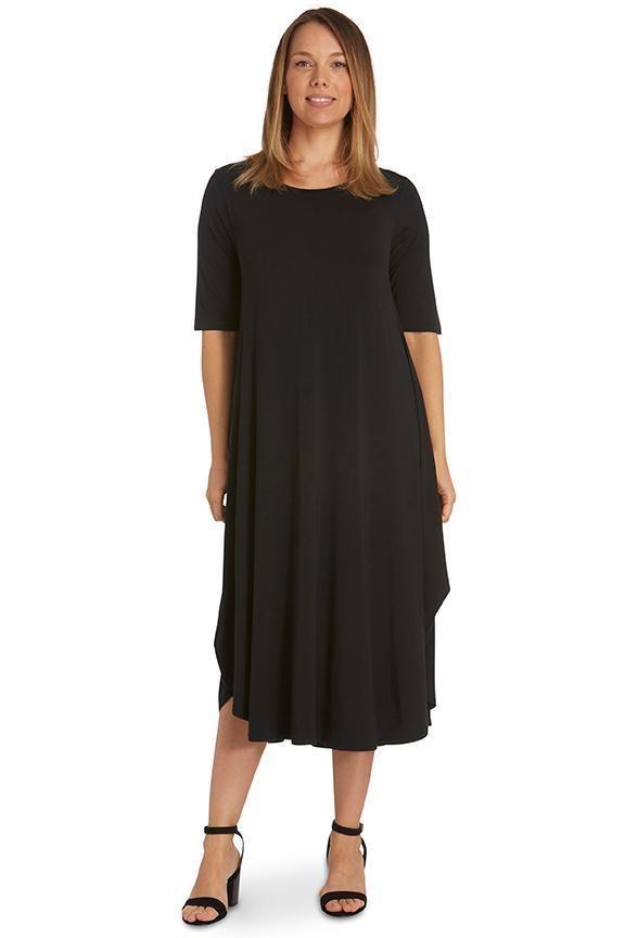 Australia Sleeveless Tri Dress BLACK 16