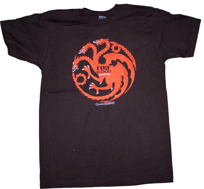 Australia Game of Thrones - Targaryen Male T-Shirt M