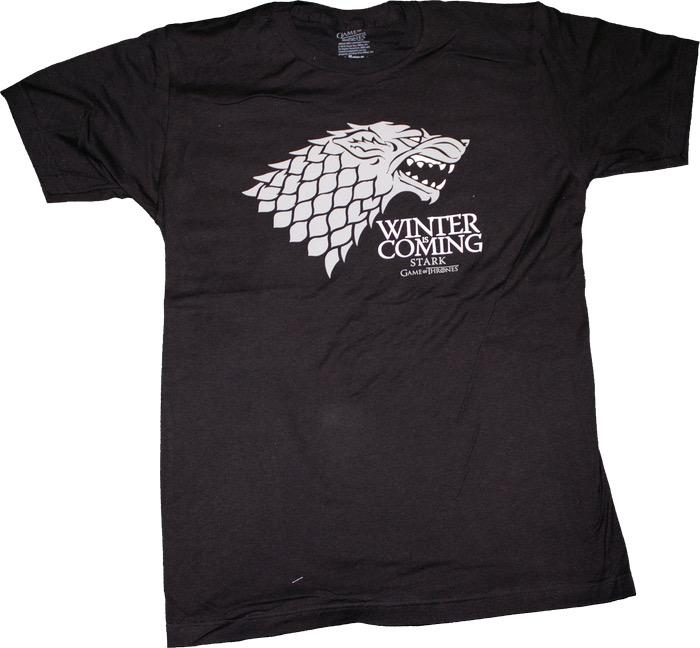 Australia Game of Thrones - Stark Winter Male T-Shirt XL