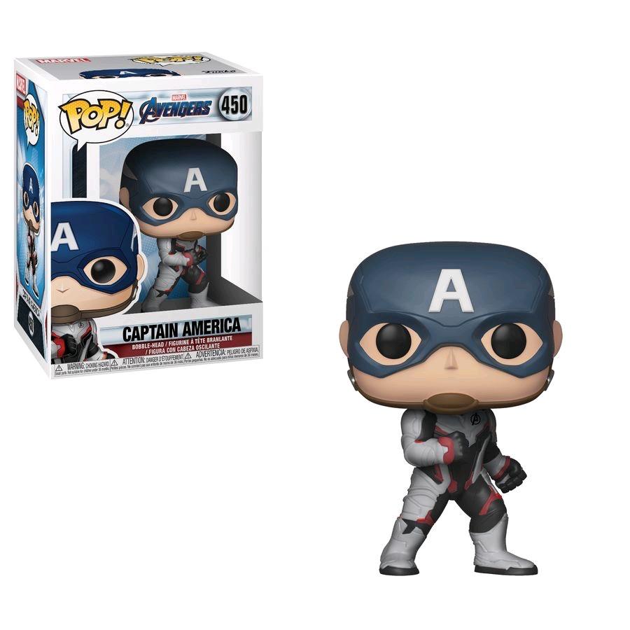 Australia Avengers 4 - Captain America (Team Suit) Pop!