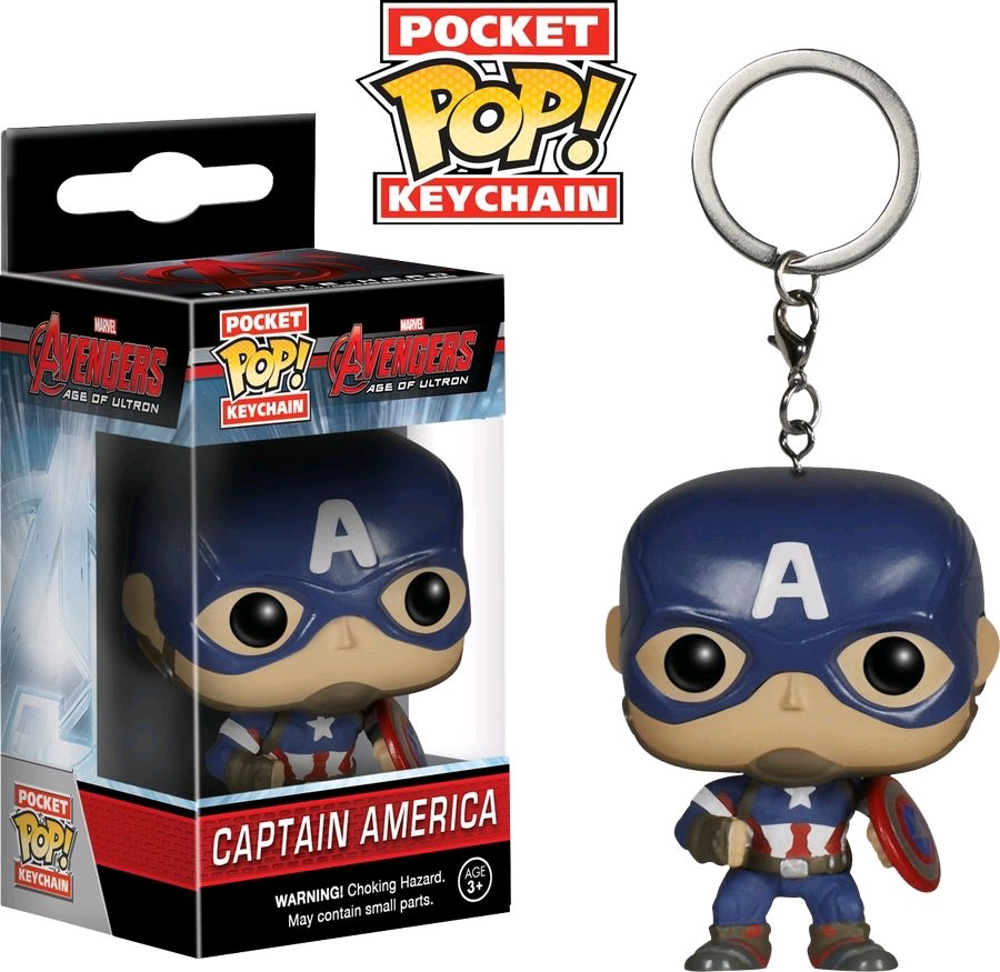 Australia Avengers 2 - Captain America Pop! Keychain
