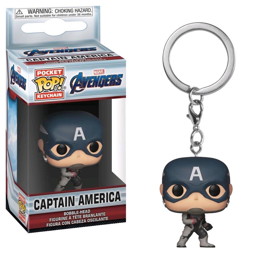 Australia Avengers 4 - Captain America Pop! Keychain