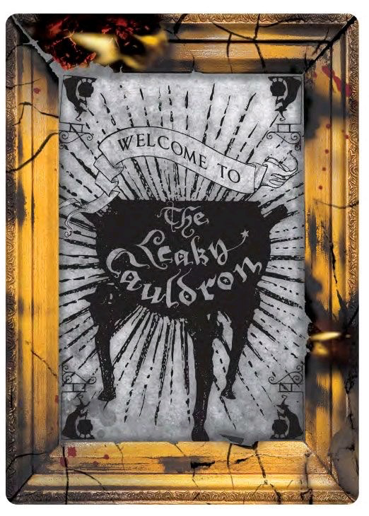Australia Harry Potter - Leaky Cauldron Small Tin Sign