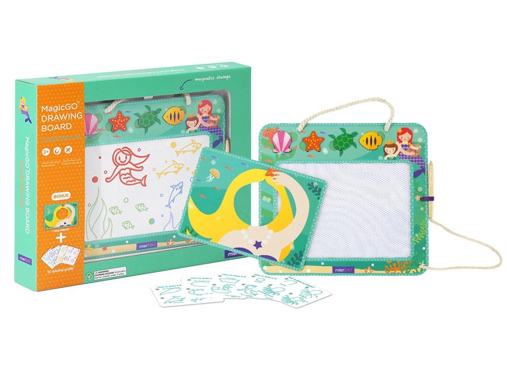 Australia Drawing Board: Magic GO Drawing Board - Doodle Mermaid