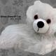 Australia Game of Thrones - Ghost Direwolf Cub Prone Plush