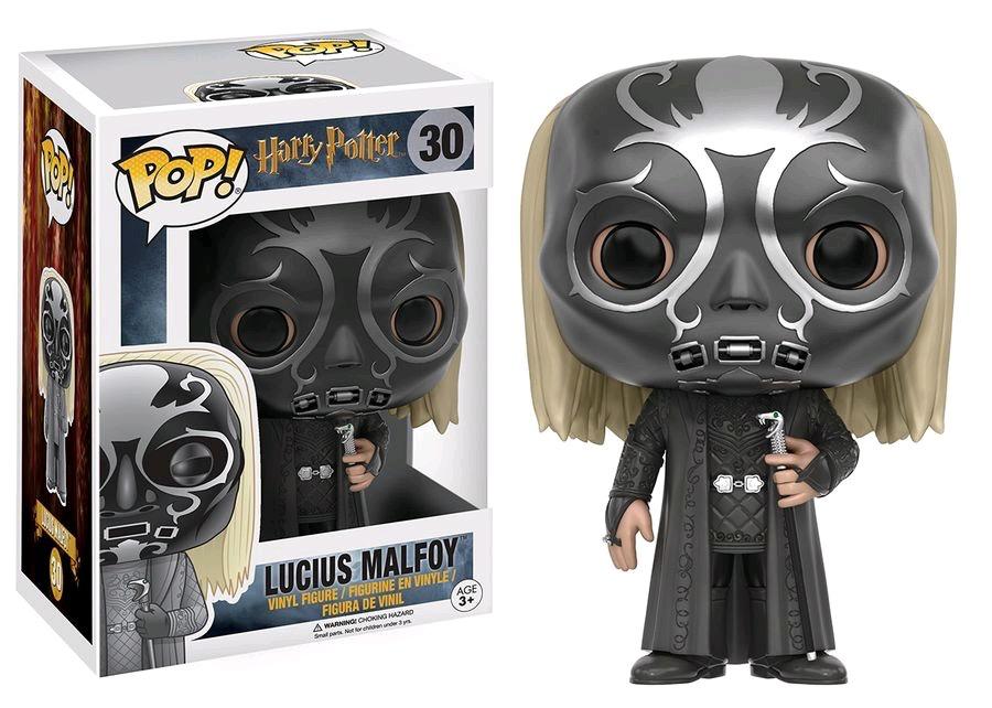 Australia Harry Potter - Lucius as Death Eater Pop!