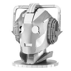 Australia Metal Earth - Dr Who - Cyberman Head