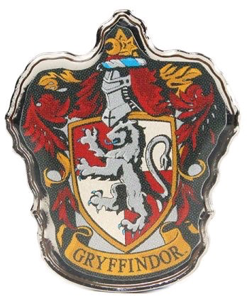 Australia Harry Potter - Gryffindor Logo Enamel Pin