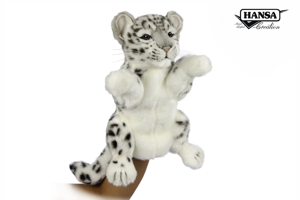 Australia Puppet Snow Leopard Cub 32cm