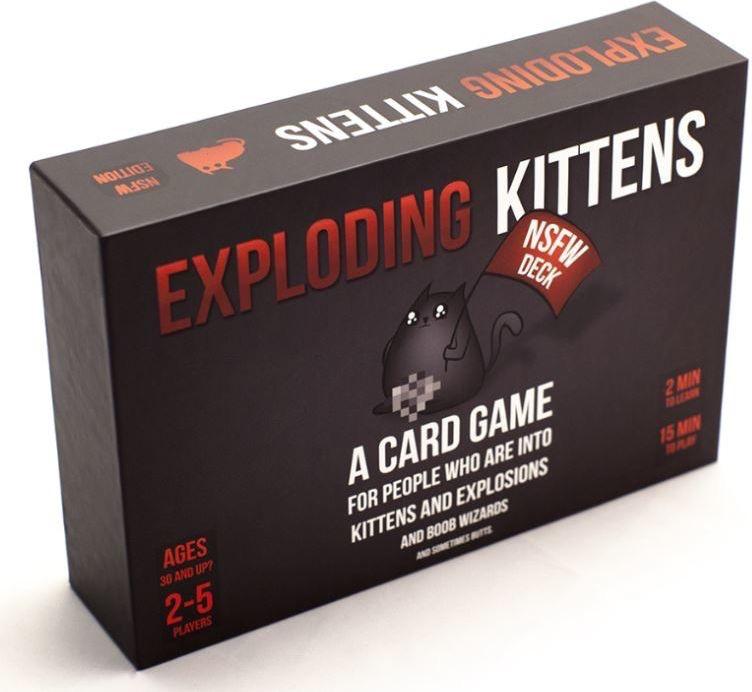 Australia Exploding Kittens NSFW Edition