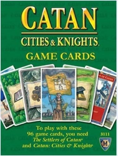 Australia Catan Cities & Knights Expansion 5th Edition