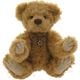 Europe Teddy Fritz color: gold beige, soft-plush, 5-fold jointed, Design: Ren Bears
