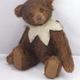 Europe Teddy Karli, mohair, color: dark brown Design: Anna Dazumal, limited edition: 299 pcs