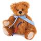 Europe Miniature Teddy Friedrich, mohair, color: honey-brown 5-fold jointed. Design: Ren Bears