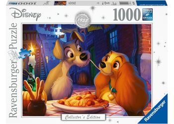Australia Rburg - Disney Lady and Tramp Moments 1000pc