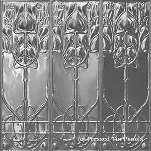 Australia Pressed Tin Art Nouveau 1800x900