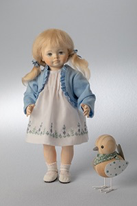 Europe Wooden doll Isabelle 25cm