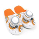 Australia Star Wars - BB-8 Slippers (Large)
