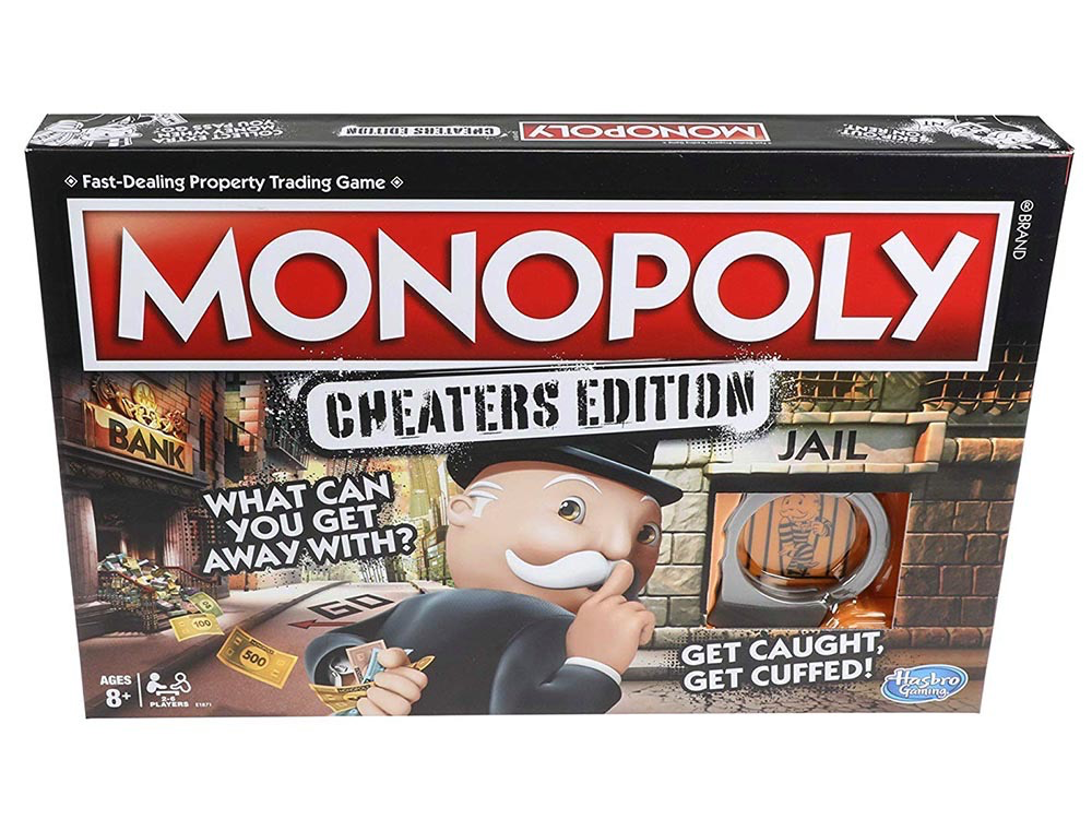 Australia MONOPOLY CHEATERS EDITION