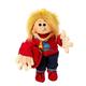 Europe Lasse, Junge mit Schultasche Handpuppe 65cm Living Puppets