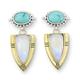 Australia Casius Moonstone Earrings