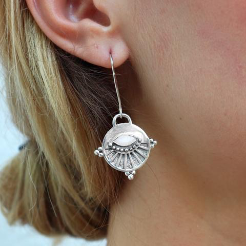 Australia Neo Earrings Silver