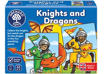 Australia Orchard Game - Knights And Dragons