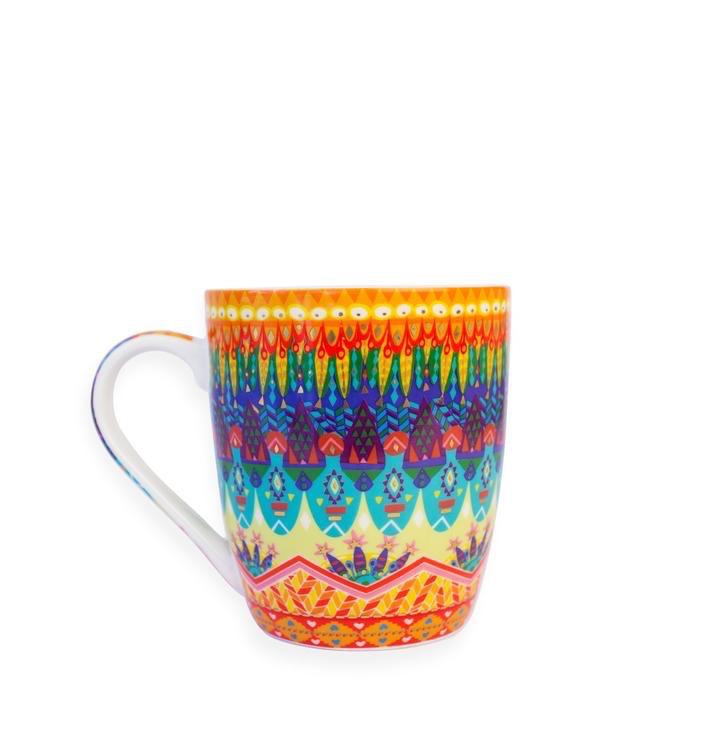 Australia Kaleidoscope Tribe Mug