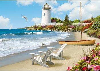 Australia Rburg - Sunlit Shores Puzzle 300pc