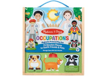 Australia M&D - Occupations Magnetic Dress up Play Set