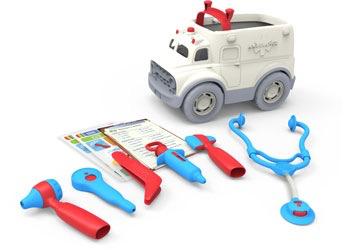Australia Green Toys - Ambulance & Doctor's Kit
