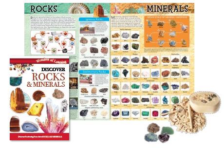 Australia Rocks and Minerals Tin Set