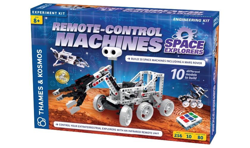 Australia Remote-Control Machines: Space Explorers