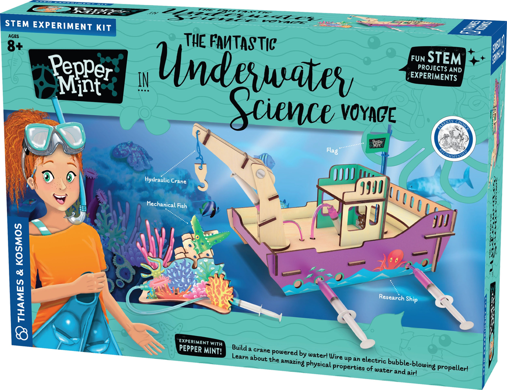 Australia Peppermint Underwater science voyage (STEM) Thames and Kosmos