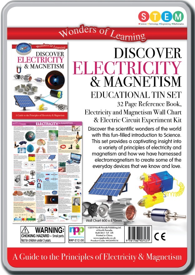 Australia Discover Electricity and Magnetism STEM Kit