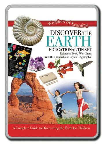 Australia Discover the Earth Tin Set