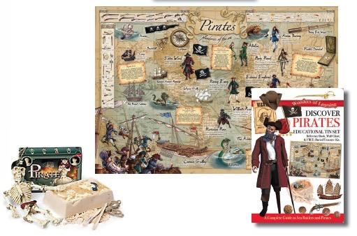 Australia Pirates Tin Set