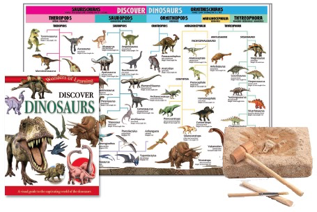 Australia Discover Dinosaurs Tin Set