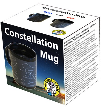 Australia Constellation Heat Changing mug